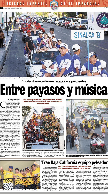 1  May  2003   2